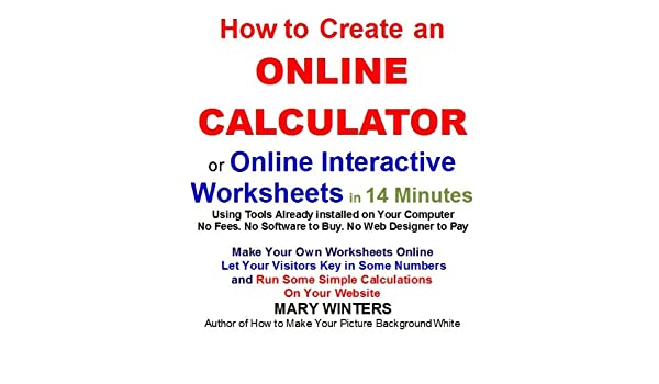Create online calculator for wordpress and other sites by vommer.