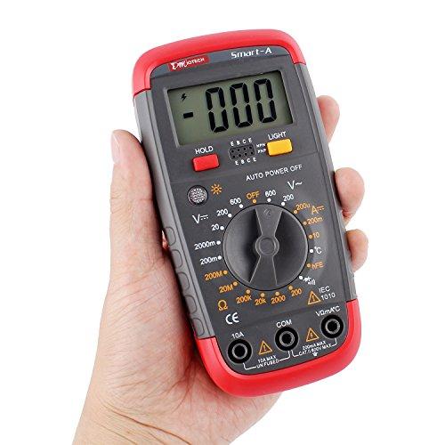 Check For Continuity Voltmeter : Dmiotech digital multimeter multi tester ac dc voltage