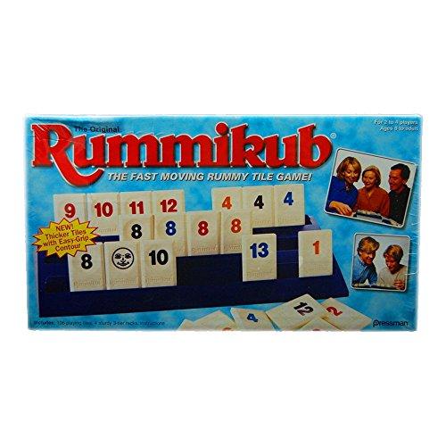 The Original Rummikub Fast Moving Rummy Tile Game 1997 Pressman by Pressman