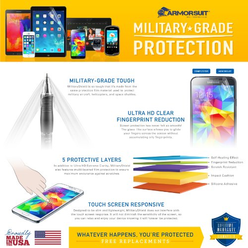 ArmorSuit MilitaryShield - Apple MacBook (2015) Invisible Clear Full Body Skin Protector Cover- Anti-Bubble Extreme Clarity Shield with Lifetime Replacement Warranty