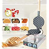Tlegend Instrument® FY-6 Electric Stainless steel egg waffle maker Non-stick pan waffle grill Egg puff machine 110V/220v by Tlegend Instrument