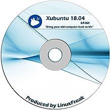 Xubuntu Linux 18.04 DVD - FAST Desktop Live DVD - Replace Windows - Official 64-bit Release