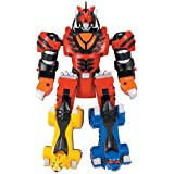 : Power Rangers Jungle Fury Transforming Megazords- Transforming Jungle Pride Megazord