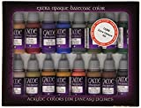 Vallejo Extra Opaque Paint Set Paint