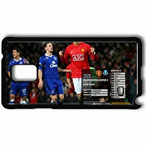 Personalized Samsung Note 4 Cell phone Case/Cover Skin 24 Manchester United Football Black by icecream design