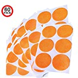 Nt SyNc Mosquito Repellent Patch with Natural Essential Oil: 60 Count - 100% Natural Citronella, Essential and Eucalyptus Oil - Absolutely Safe to Use, Non-Toxic DEET Free - One Patch Works for 24-48 Hrs. Natural Mosquito Repellent Stickers Keeps Insects and Bugs Far Away from Home, Camping and Travel. Ideal for Outdoors, Backyard, Parks, Bird Watching, Fishing, Golfing etc. For Baby, Toddlers, Kids and Adults
