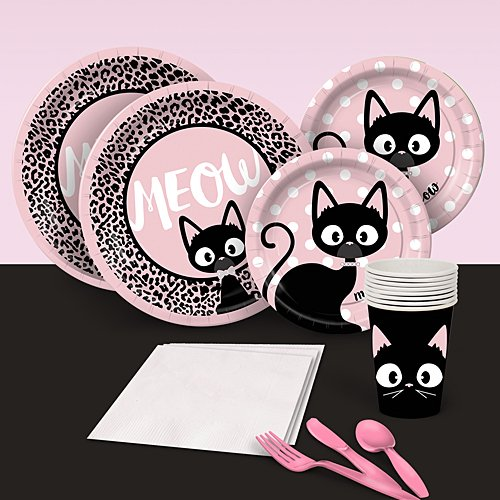 Shindigz Kitty Cat Diva Party Pack for 8 by