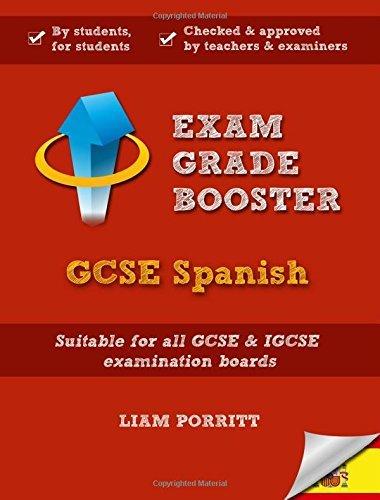 Exam Grade Booster: GCSE Spanish by Liam Porritt (11-Feb-2015) Paperback