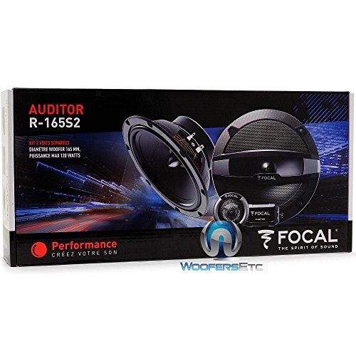 pkg Focal Auditor R-165S2 6.5'' 120W RMS 2-Way Component Speakers and Focal Auditor R-165C 6.5'' 120W RMS 2-Way Coaxial Speakers by Focal (Image #1)