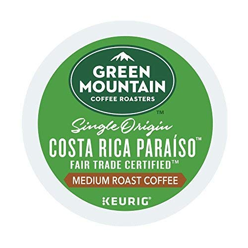 Paradise Costa Rica - Green Mountain Coffee Costa Rica Paraiso Keurig K-Cups (18 Count)