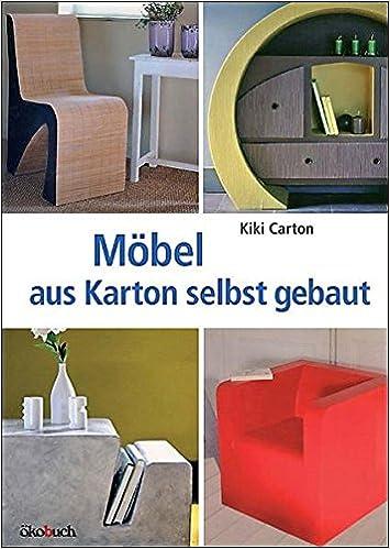 Möbel Aus Karton Selbst Gebaut Amazonde Kiki Carton Sonja