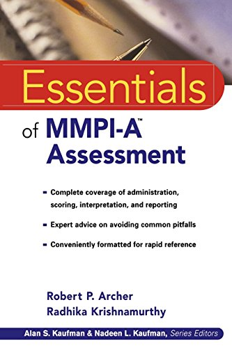 Essentials of MMPI-A Assessment (Essentials of Psychological Assessment Series)