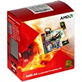 AMD A4-3400 APU with AMD Radeon 6410 HD Graphics 2.7GHz Socket FM1 65W Dual-Core Processor - Retail (AD3400OJHXBOX)
