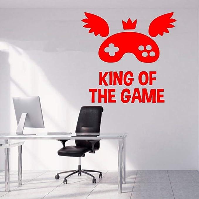 zqyjhkou King of Game Quote Tatuajes de Pared Juego ...
