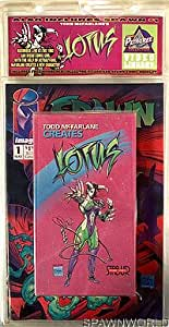 Todd McFarlane Creates Lotus with Spawn Comic Book Issue #1