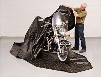 Zerust Rust Protection Motorcycle Storage Cover With Zip Closure With  Corrosion Prevention And Protection   135