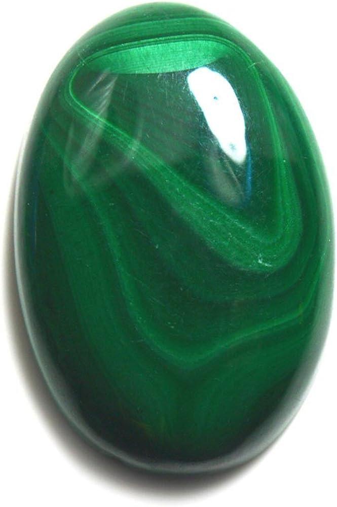 Gemsyogi Natural Malaquita Verde Suelta Piedra Preciosa 6 Quilates Forma Oval astrológica fabricación de Joyas para Mayor tasa