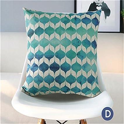 Amazon.com: Bohemia Style Cushion Cover National Decorative ...