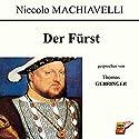 Der Fürst Hörbuch von Niccolò Machiavelli Gesprochen von: Thomas Gehringer