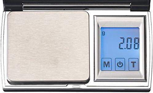 Rosenstein & Söhne Taschenwaage: Digitale Taschen-Feinwaage, Touch-Display, bis 300 g, auf 0,01 g genau (Goldwaage)