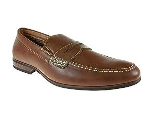 Ferro Aldo Men's 19331 Classic Penny Loafers, Brown, 13
