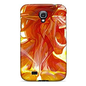 Special Mialisabblake Skin Case Cover For Galaxy S4, Popular Eren Yeager - Attack On Titan Phone Case by lolosakes