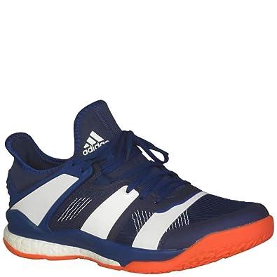 adidas Stabil x Shoe - Mens Handball 8 Mystery Ink/White/Solar Red