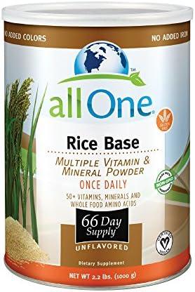 All One Nutrient Powder Rice Base All One 2.2 lbs Powder