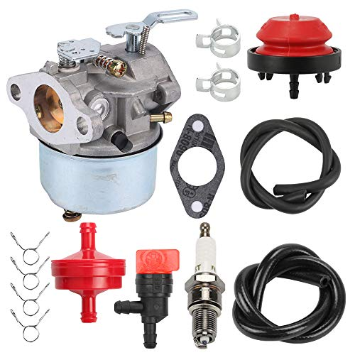Trustsheer 640298 Carburetor fit Tecumseh OHSK70 OH195SA OH195SA-72525G 72554G Engines 5.5hp 7hp 4 Cycle 2 Stage Snowblower Toro 38571 38575 38576 38577 CCR 6053 Ariens 932036 932504 ST524 Carb ()
