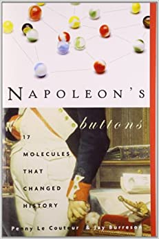 Image result for napoleon's buttons