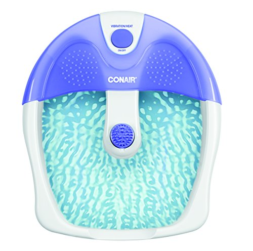 Conair Pedicure Spa with Vibration, Purple