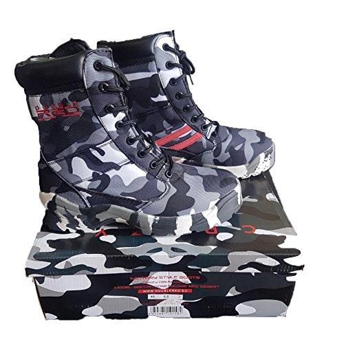 Amphibien Stiefel Camo Camouflage militärische Gummi Softair Airsoft rutschfest Herren