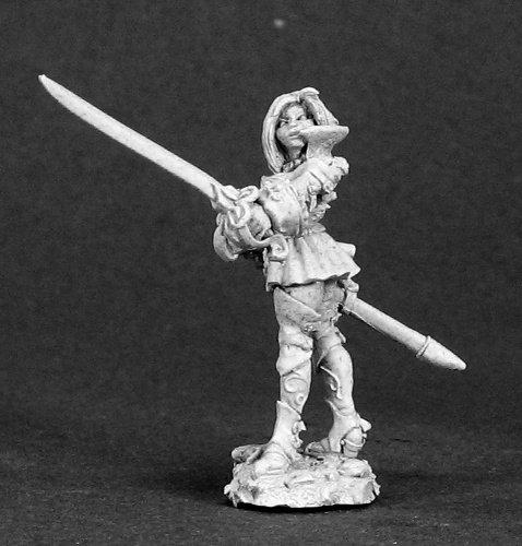 Reaper Miniatures Rhaine, Female Rogue #03311 Dark Heaven Unpainted Metal
