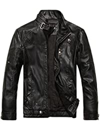 Black Leather Jackets For Men