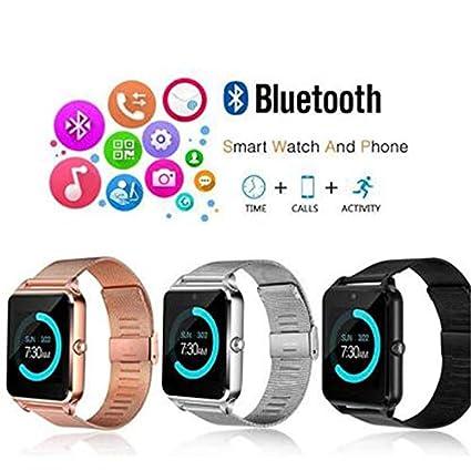 Amazon.com: MTOFAGF Z60 Bluetooth Smart Watch Phone ...