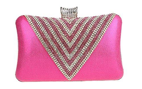 C&T Equipaje de cabina, color Rosa, talla Rosa - rosa (b)
