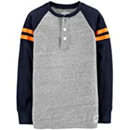 OshKosh B'Gosh Boys' Long Sleeve Raglan Henley