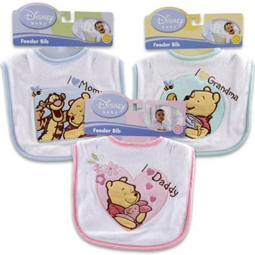 Pooh Telephone (Bib 7.75x8.5 Inches Long Winnie The Pooh Case Pack 36)