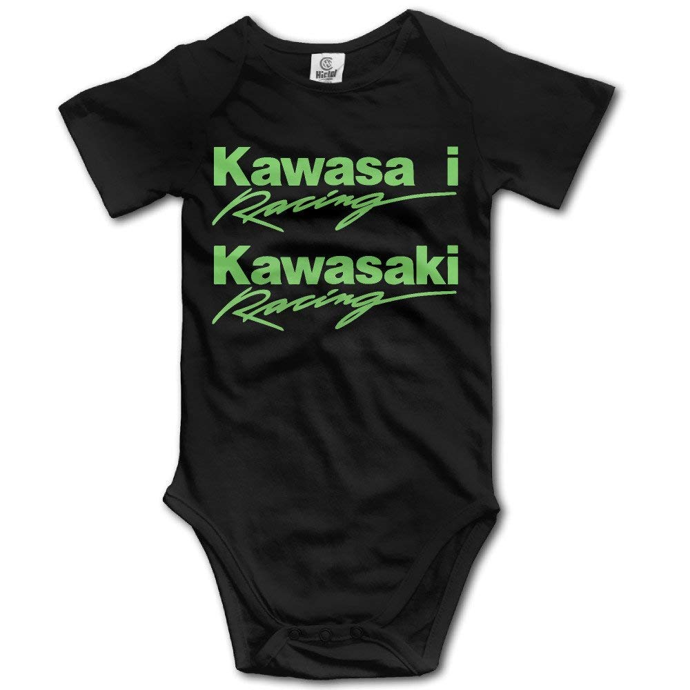 fenglinghua Body b/éb/é Babys Bodysuit Romper Jumpsuit Baby Clothes Outfits Kawasaki Logo Tops