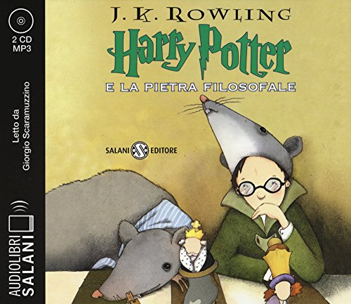Harry Potter e la pietra filosofale. Audiolibro. 2 CD Audio formato MP3 (Italian version of Harry Potter and the...