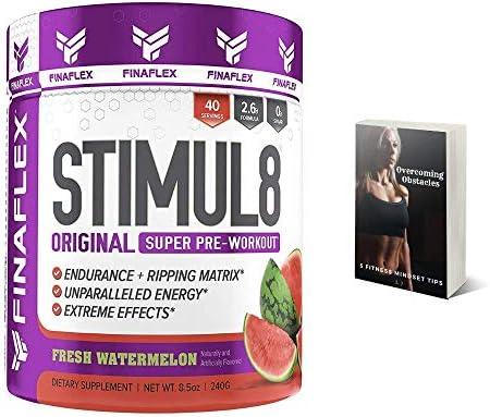 Amazon.com: Finaflex Stimul8 Pre-Workout Powder, Watermelon, 8.5 ...