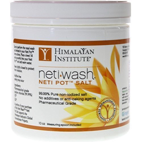 Himalayan Institute Neti Wash Neti Pot Salt -- 10 oz