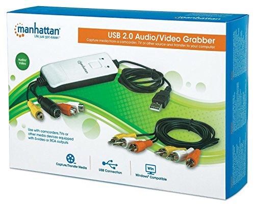 Manhattan Products 162579 Usb Audio Video Grabber by Manhattan