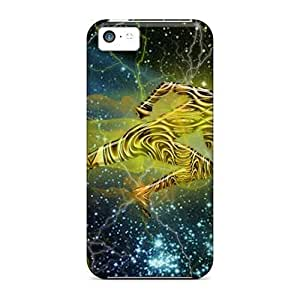 For Iphone 5c With Space Runner durable iphone pattern covers miao's Customization case