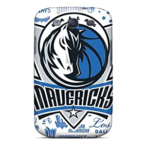Snap-on Case Designed For Galaxy S3- Dallas Mavericks BY icecream design