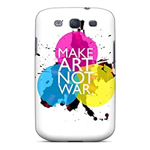 Series Skin Case Cover For Galaxy S3(make Art Not War)