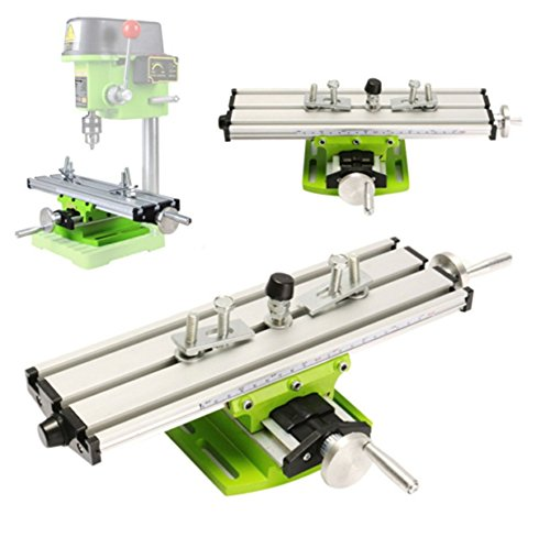 Multifunction Worktable Milling Working Table Milling Machine Compound Drilling Slide Table For Bench Drill (6300 SIZE) by Carmyra (Image #7)