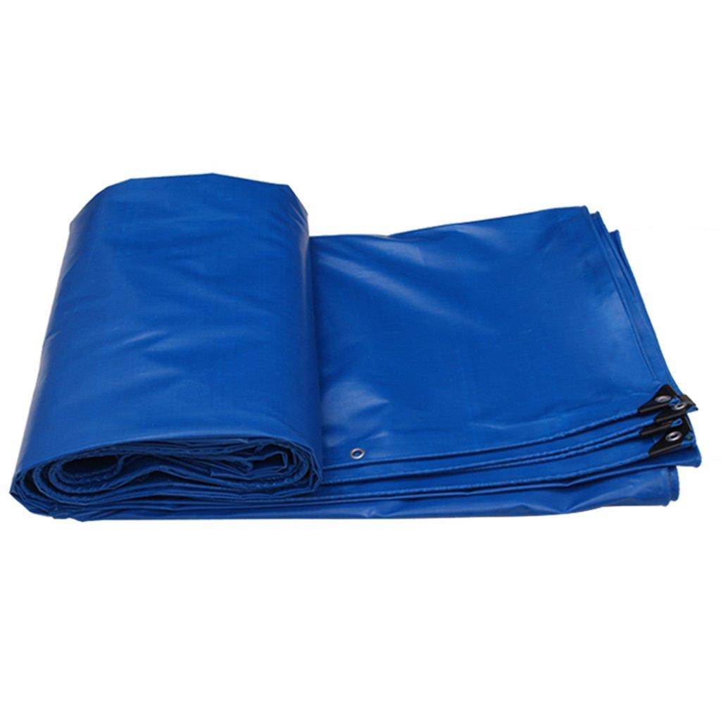 benvenuto per ordinare Tende Tende Tende per Eventi e tendoni Ombrelloni tett Panno Impermeabile Telone Copertura Dura Protezione Solare   telone di Grandi Dimensioni PVC 480 g per Metro Quadrato (Colore   blu, Dimensione   4  5m)  l'intera rete più bassa