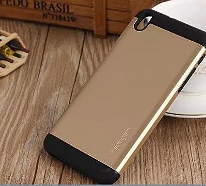 best service d8cb8 acd35 HTC Desire 820 Ultra SLIM ARMOR Spigen SGP Case Cover-Gold