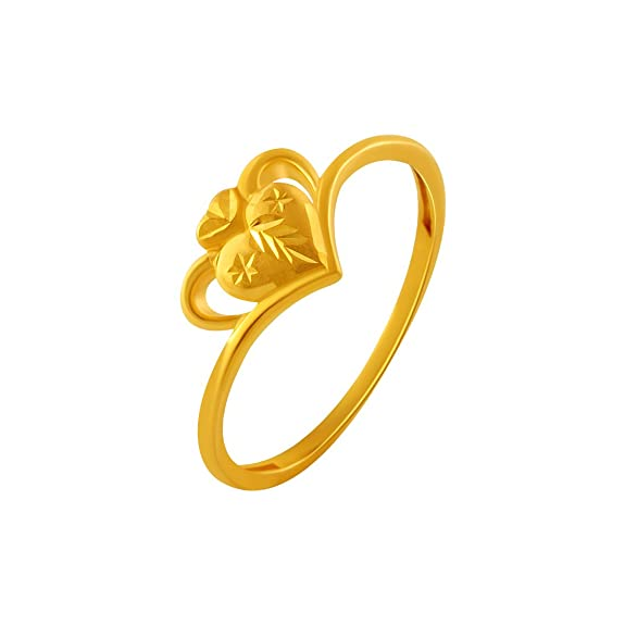 P.C. Chandra Jewellers 22KT Yellow Gold Ring for Women Rings